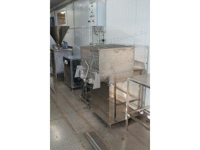 Цех для производства колбасных изделий 300-500 кг в смену